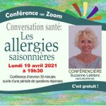 Conférence: Les allergies saisonnières
